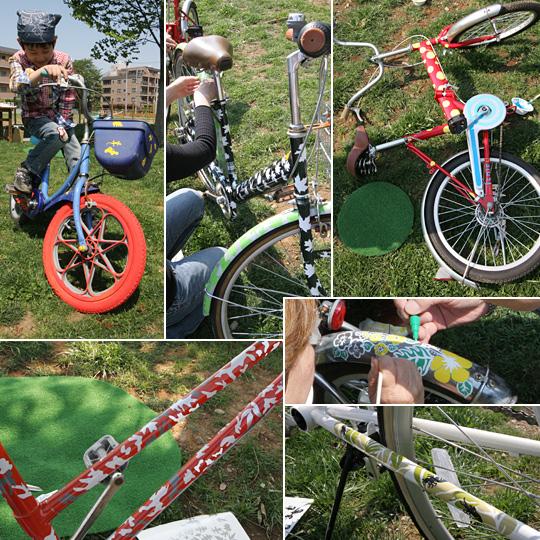 アート自転車, ワークショップ, R-cycle, IID