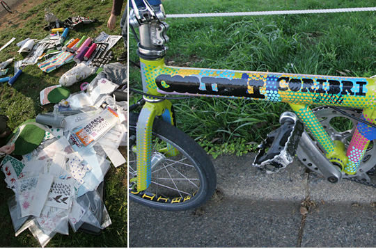 アート自転車, ワークショップ, R-cycle, IID, せたがや